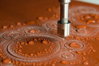 A WATER JET in action