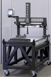 Raytech Measuring Systems three axis table