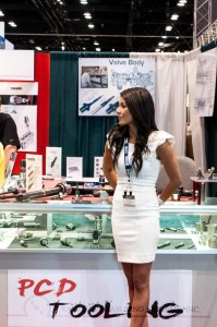 Women at trade shows