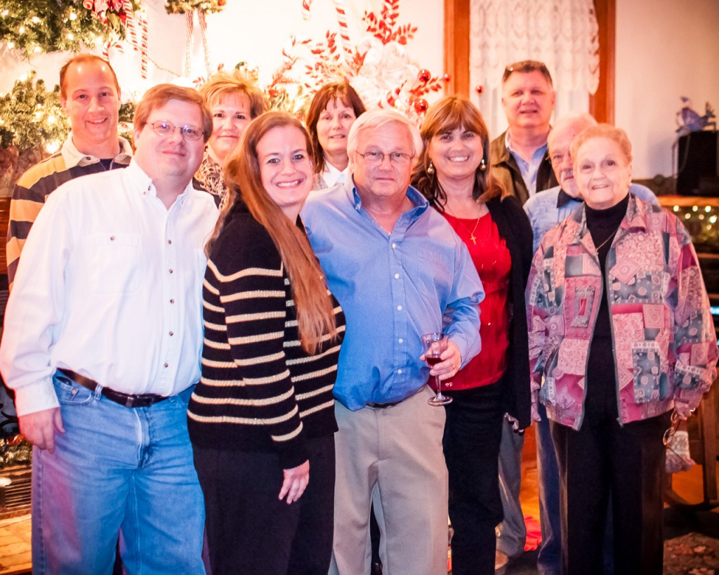 Raytech staff at the Christmas party
